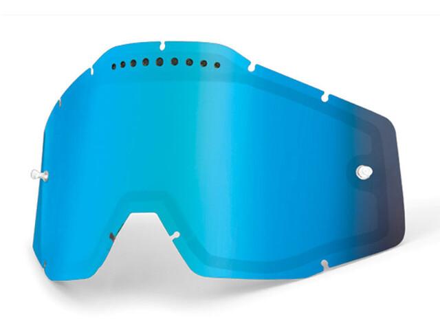 100% Vented Dual Linse, blue / mirror